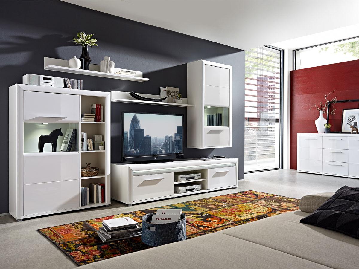 rio wandregale 2er set weiss alu. Black Bedroom Furniture Sets. Home Design Ideas