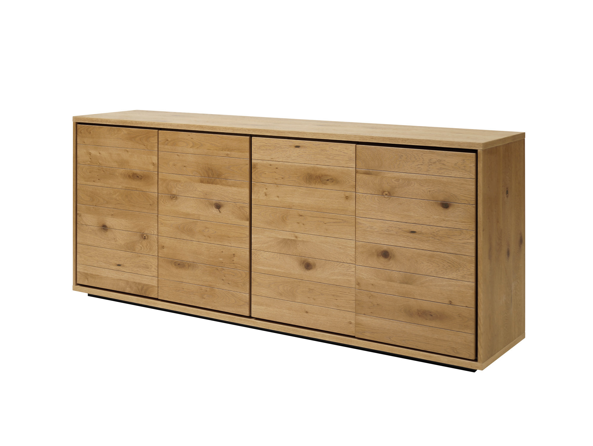 Darling sideboard wildeiche furniert for Sideboard wildeiche