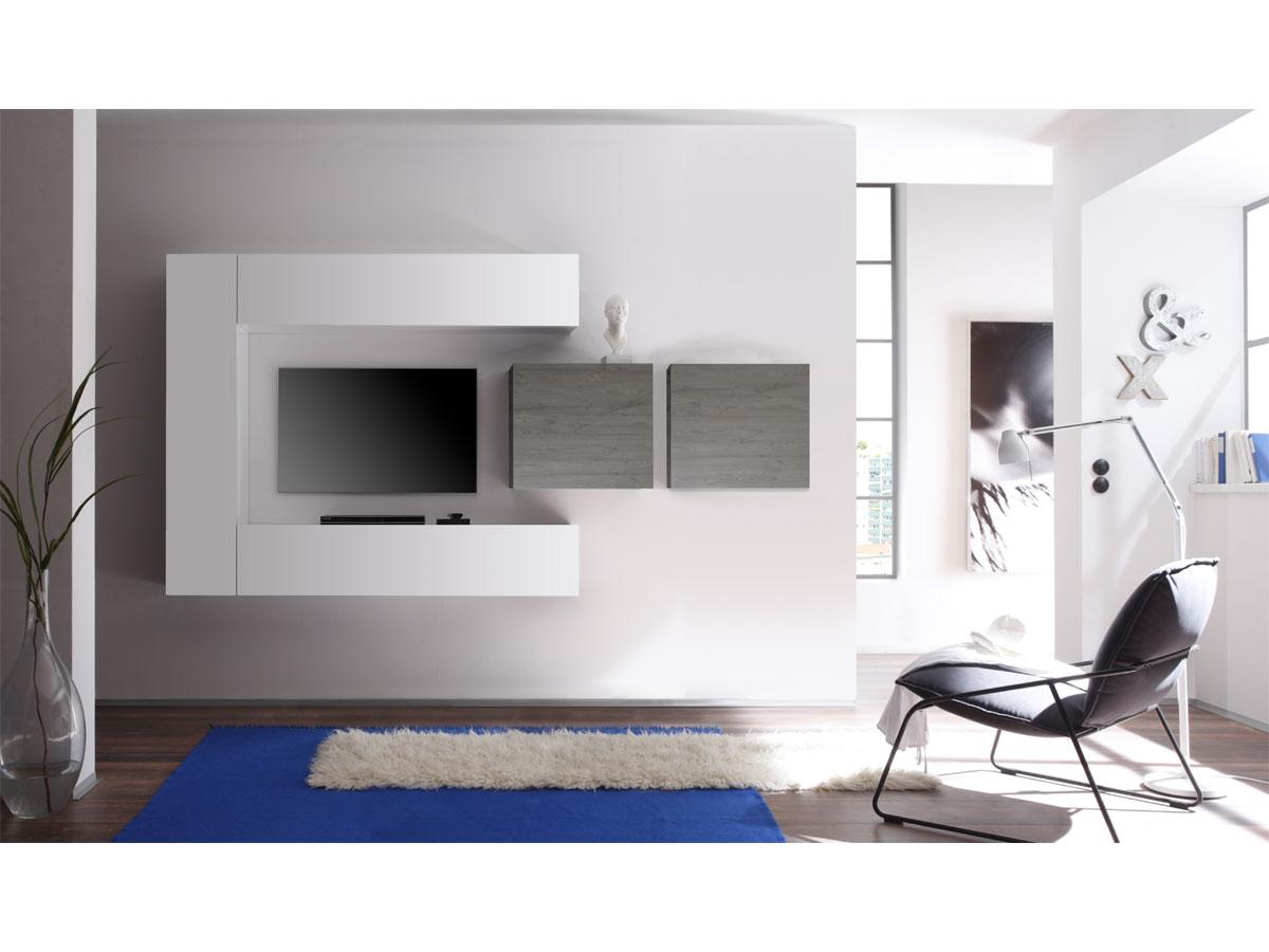 casino i wohnwand wei eiche wenge. Black Bedroom Furniture Sets. Home Design Ideas