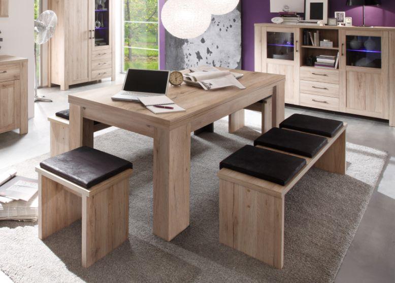 leroy sitzbank san remo eiche 90 cm. Black Bedroom Furniture Sets. Home Design Ideas