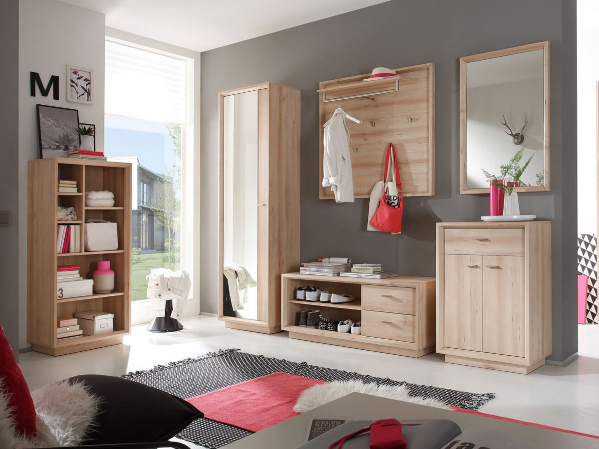 seven standregal edelbuche. Black Bedroom Furniture Sets. Home Design Ideas