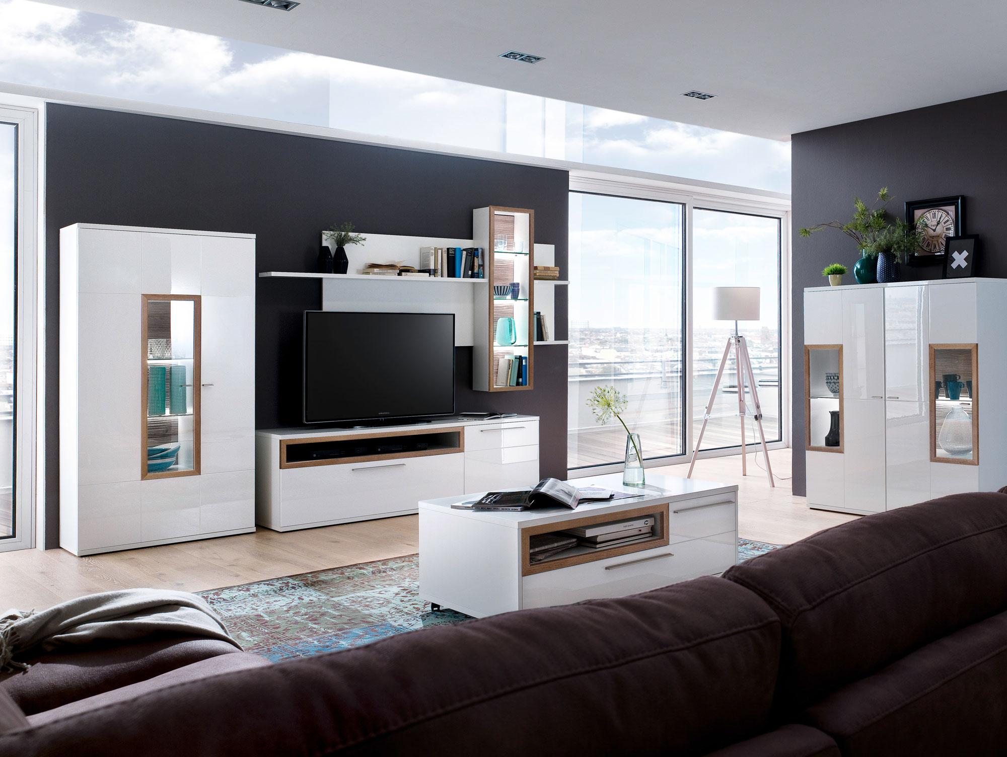 eck wohnwand wei excellent eck wohnwand ikea tv mbel ecklsung m ivholz quot c with eck wohnwand. Black Bedroom Furniture Sets. Home Design Ideas