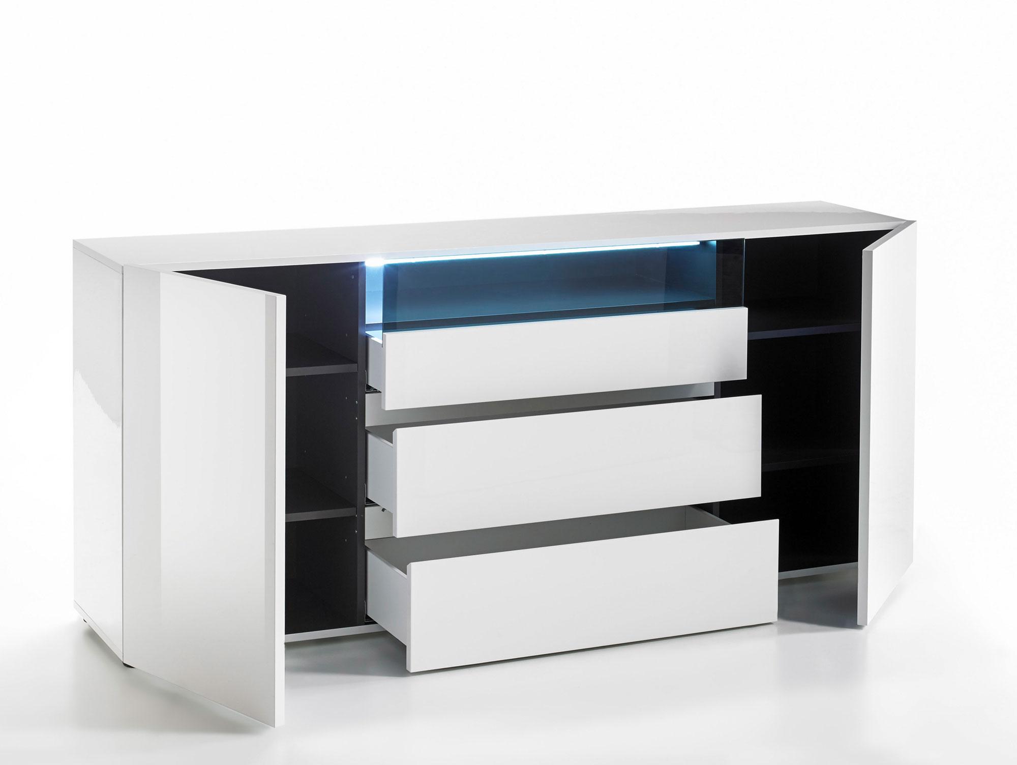 venedig sideboard wei. Black Bedroom Furniture Sets. Home Design Ideas