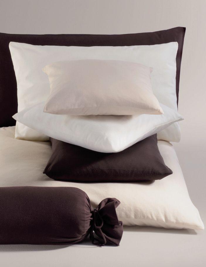 mako jersey kissenbezug 40x40 cm weiss. Black Bedroom Furniture Sets. Home Design Ideas