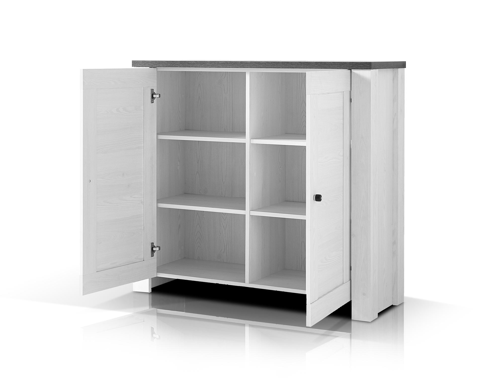 antwerpen ii kommode t ren l rche pinie dunkel. Black Bedroom Furniture Sets. Home Design Ideas