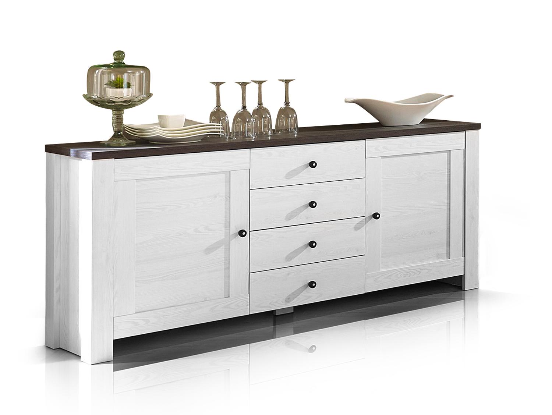 antwerpen sideboard l rche pinie dunkel. Black Bedroom Furniture Sets. Home Design Ideas