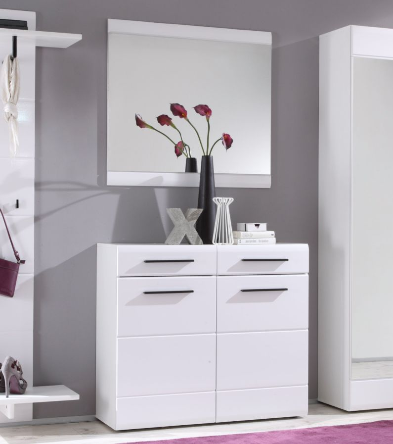 deon komplettgarderobe wei mdf fronten. Black Bedroom Furniture Sets. Home Design Ideas