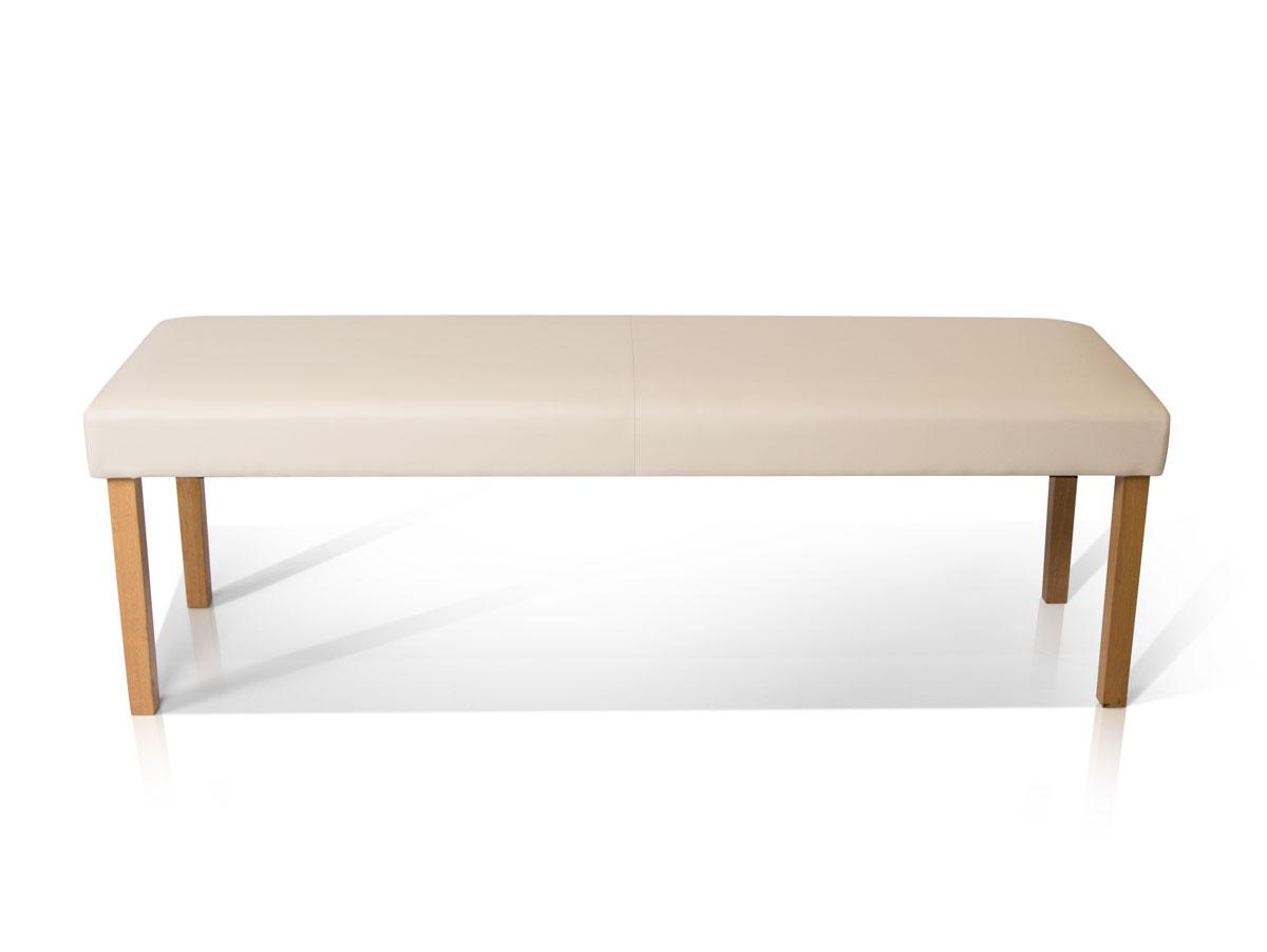 bill sitzbank kunstleder creme 140 cm. Black Bedroom Furniture Sets. Home Design Ideas