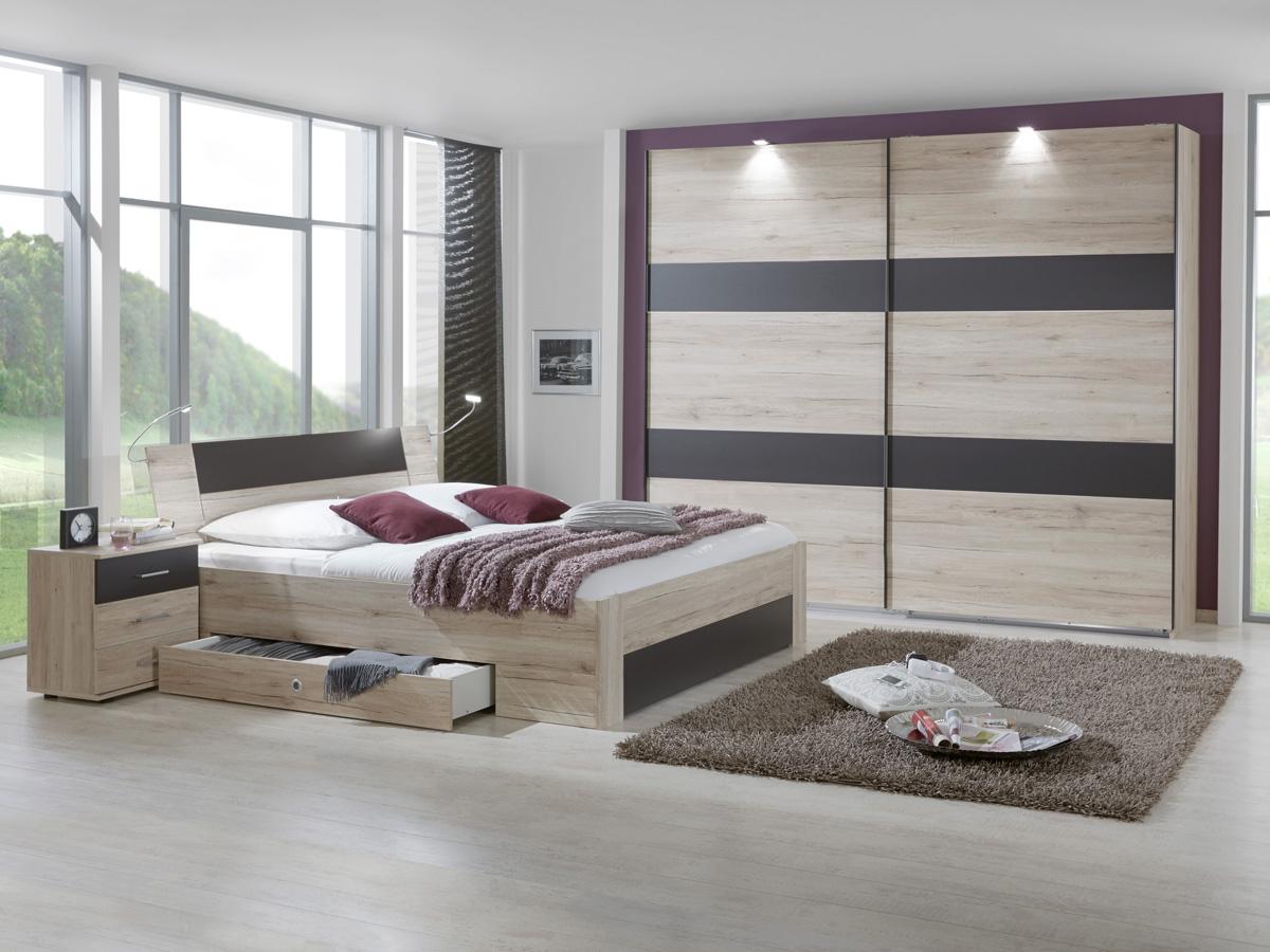 eric schwebet renschrank 225 cm san remo eiche lavagrau. Black Bedroom Furniture Sets. Home Design Ideas