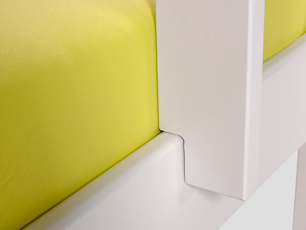 Yogi Etagenbett : Yogi etagenbett mit leiter 90x200 kiefer weiß gerade