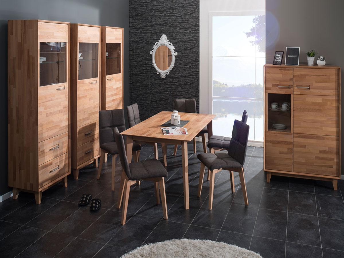 nepal iii sideboard massiv ge lt kernbuche. Black Bedroom Furniture Sets. Home Design Ideas