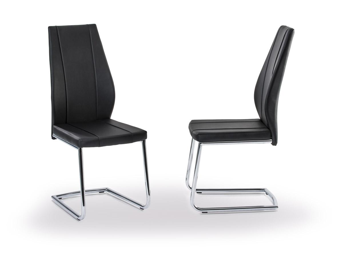 leeds schwingstuhl esstischstuhl schwarz. Black Bedroom Furniture Sets. Home Design Ideas