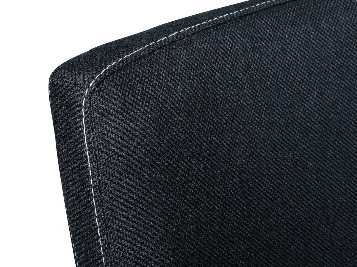 lena schwingstuhl webstoff schwarz. Black Bedroom Furniture Sets. Home Design Ideas