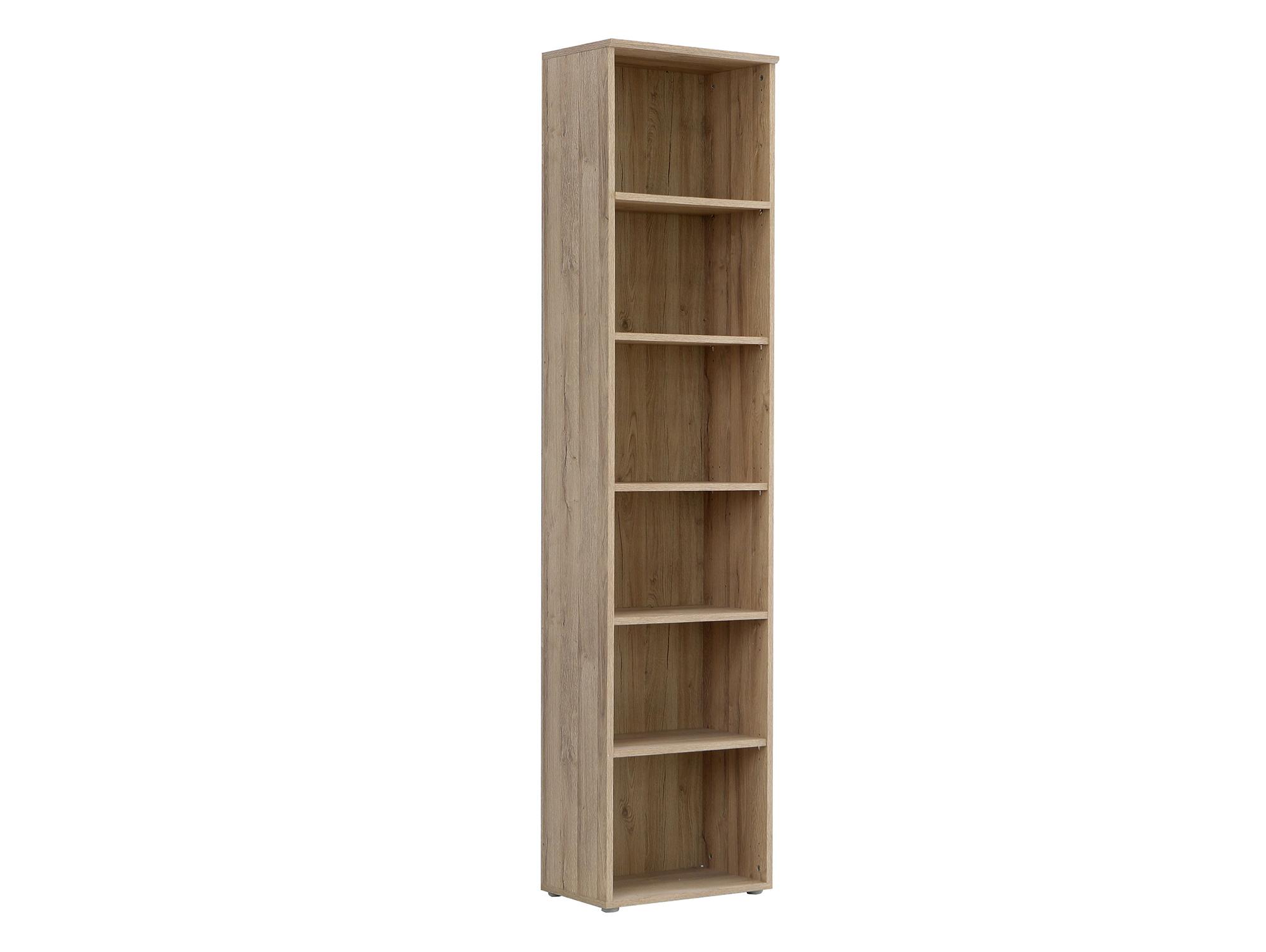 maraun regal offen eiche bianco 51 cm 220 cm. Black Bedroom Furniture Sets. Home Design Ideas