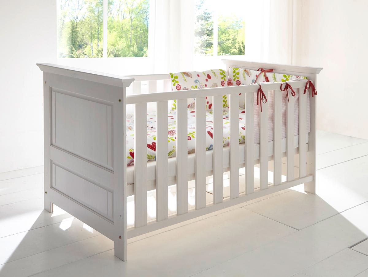 Blickfang Babyzimmer Massivholz Weiß Dekoration Von