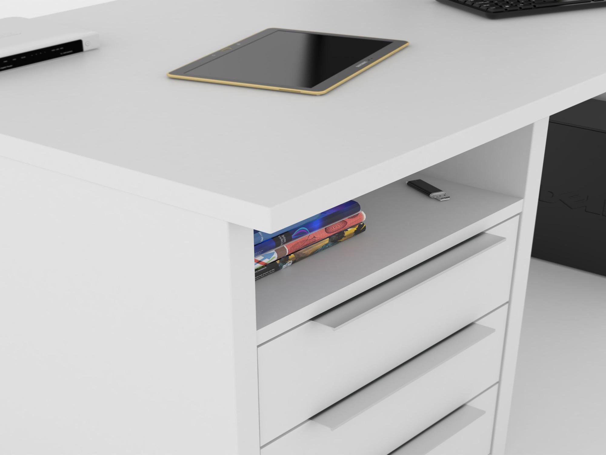schreibtisch viele schubladen abodyissue. Black Bedroom Furniture Sets. Home Design Ideas