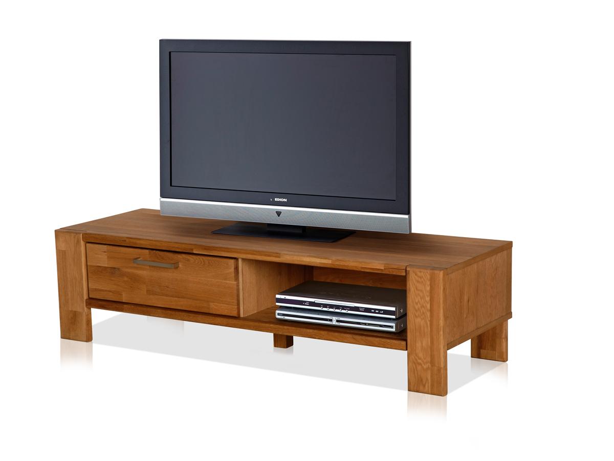 Schlafzimmerschrank Mit Tv Teil : rusty tv teil mit 1 schubkasten eiche geölt mit kabeldurchgang