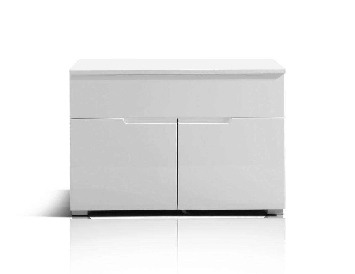 sandra waschbeckenunterschrank ohne becken wei. Black Bedroom Furniture Sets. Home Design Ideas