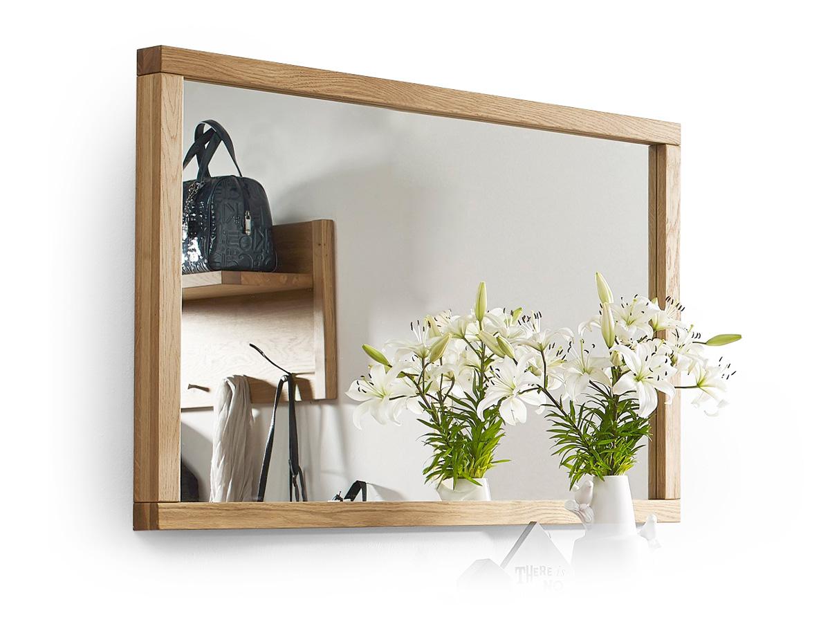 steffen spiegel 106x70 cm wildeiche ge lt. Black Bedroom Furniture Sets. Home Design Ideas