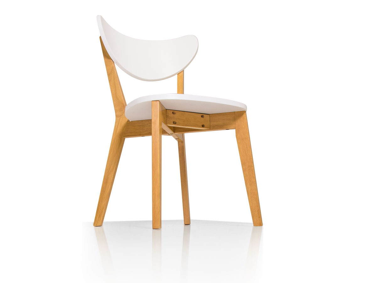 Holzstuhl Weiß bert i esszimmerstuhl holzstuhl buchefarbig weiß