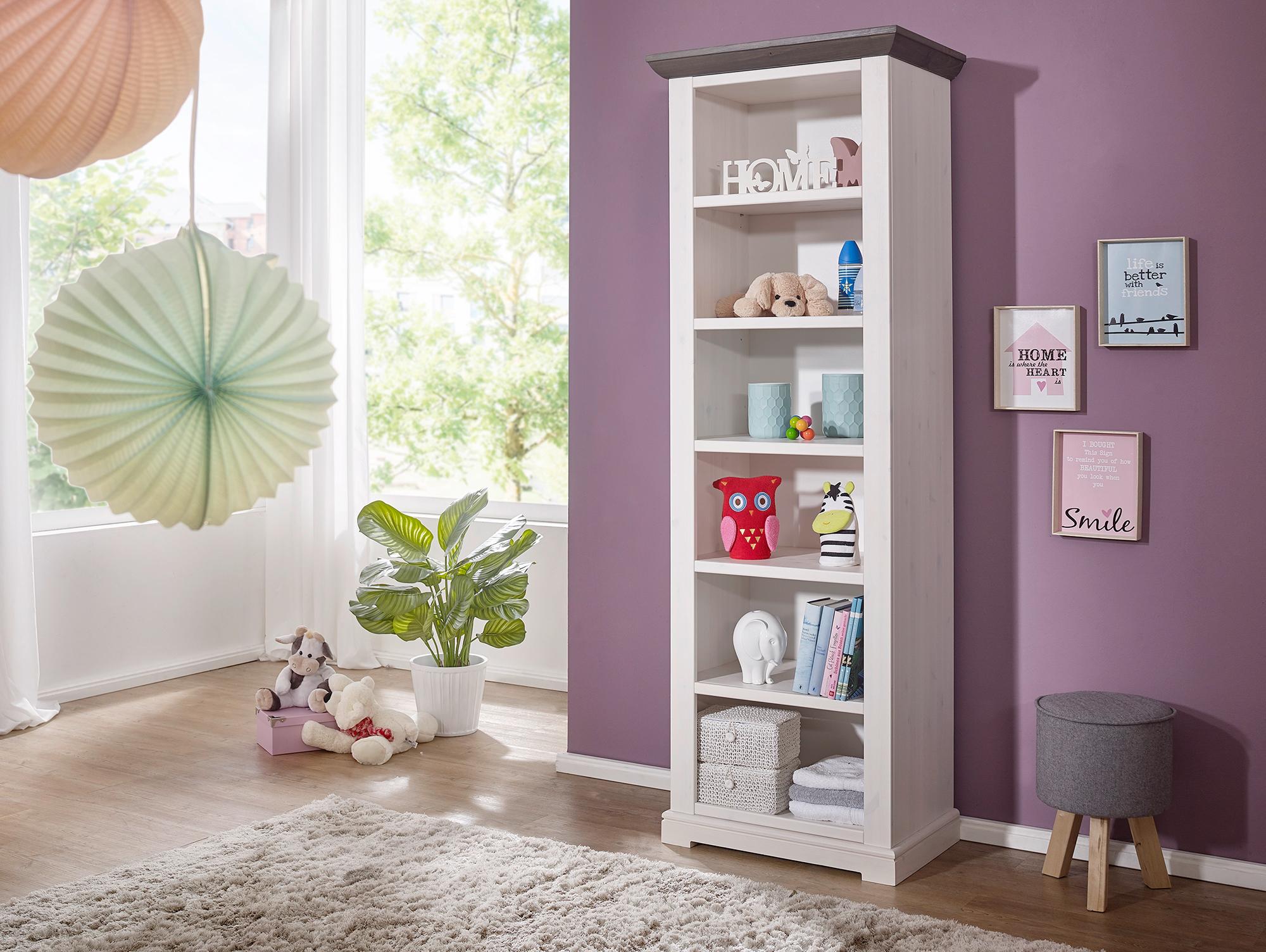 tinka babyzimmer kiefer wei grau. Black Bedroom Furniture Sets. Home Design Ideas
