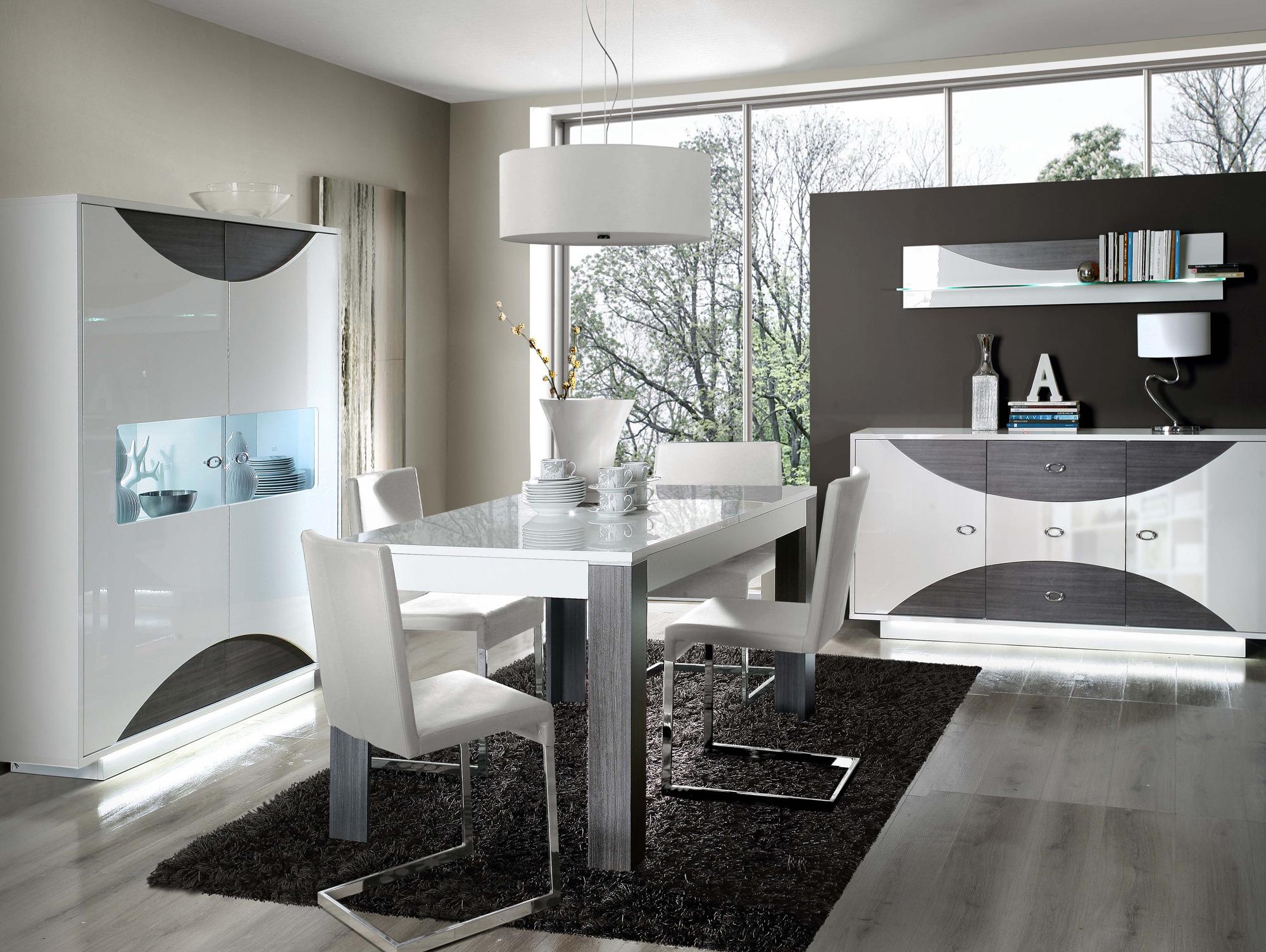 wanda sideboard wei eiche grau. Black Bedroom Furniture Sets. Home Design Ideas