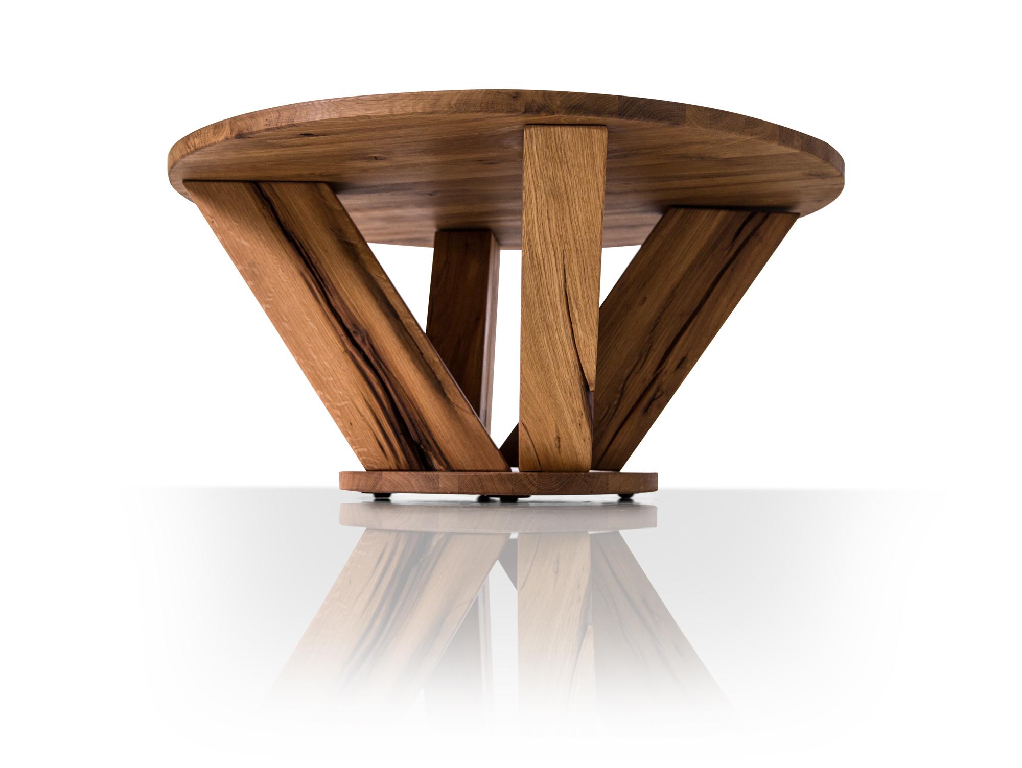 washington couchtisch wildeiche ge lt mit holzplatte. Black Bedroom Furniture Sets. Home Design Ideas