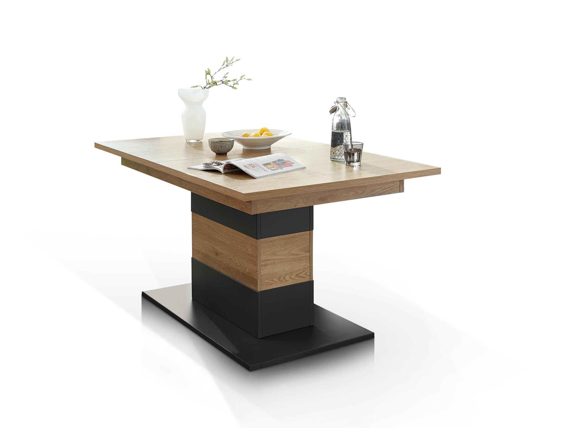 bianca esstisch wildeiche 160 210x90 cm. Black Bedroom Furniture Sets. Home Design Ideas