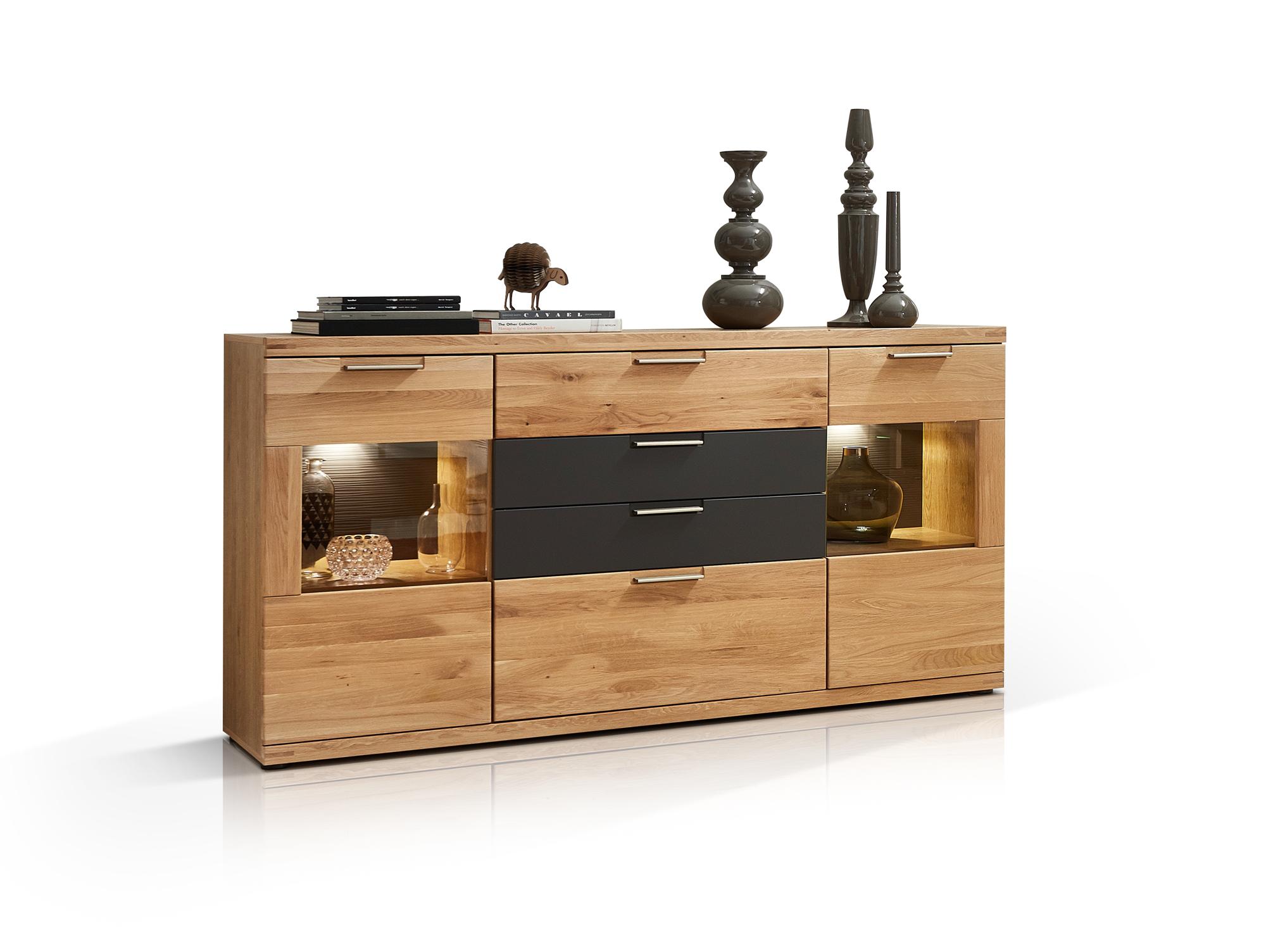 bianca sideboard wildeiche massiv. Black Bedroom Furniture Sets. Home Design Ideas