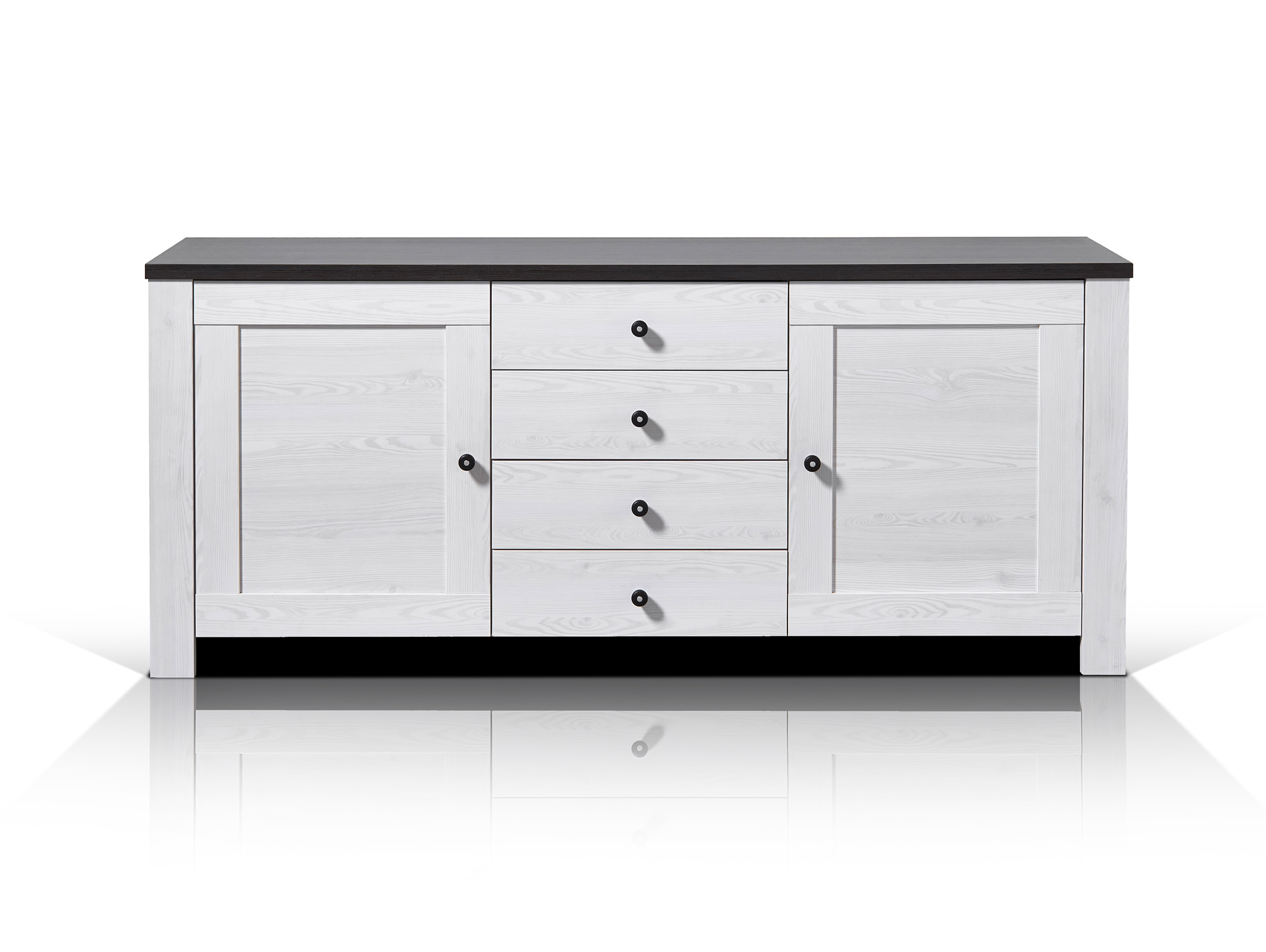 antwerpen sideboard l rche pinie dunkel. Black Bedroom Furniture Sets. Home Design Ideas