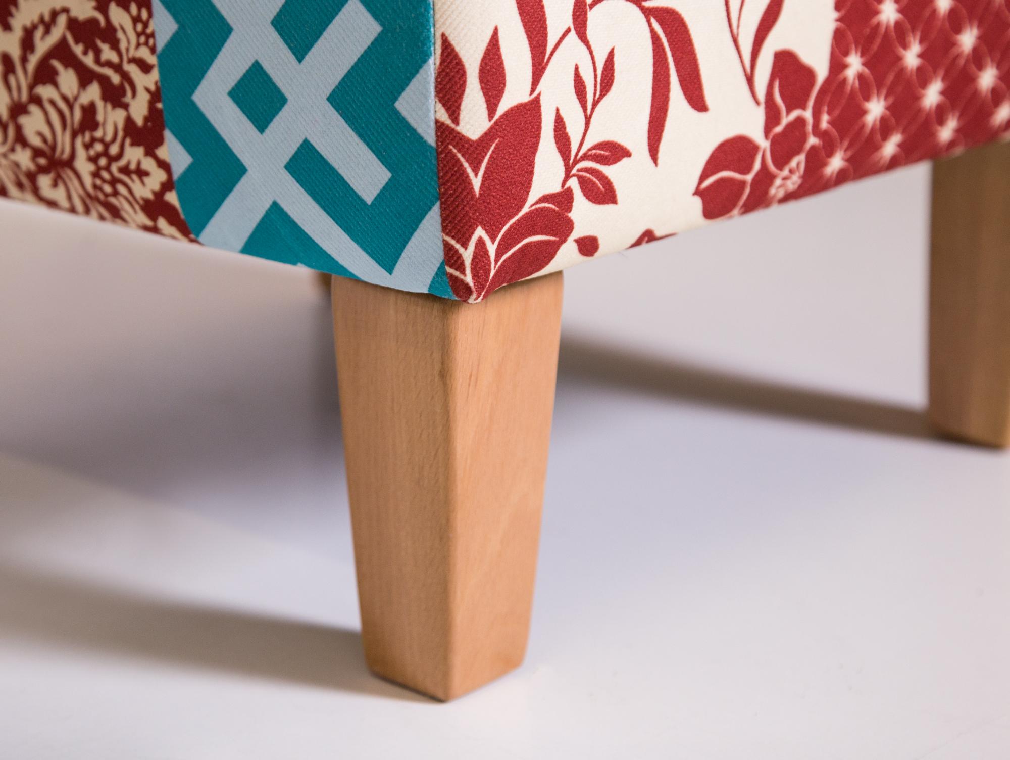hocker patchwork hocker silber hhe cm cabrillo hocker. Black Bedroom Furniture Sets. Home Design Ideas