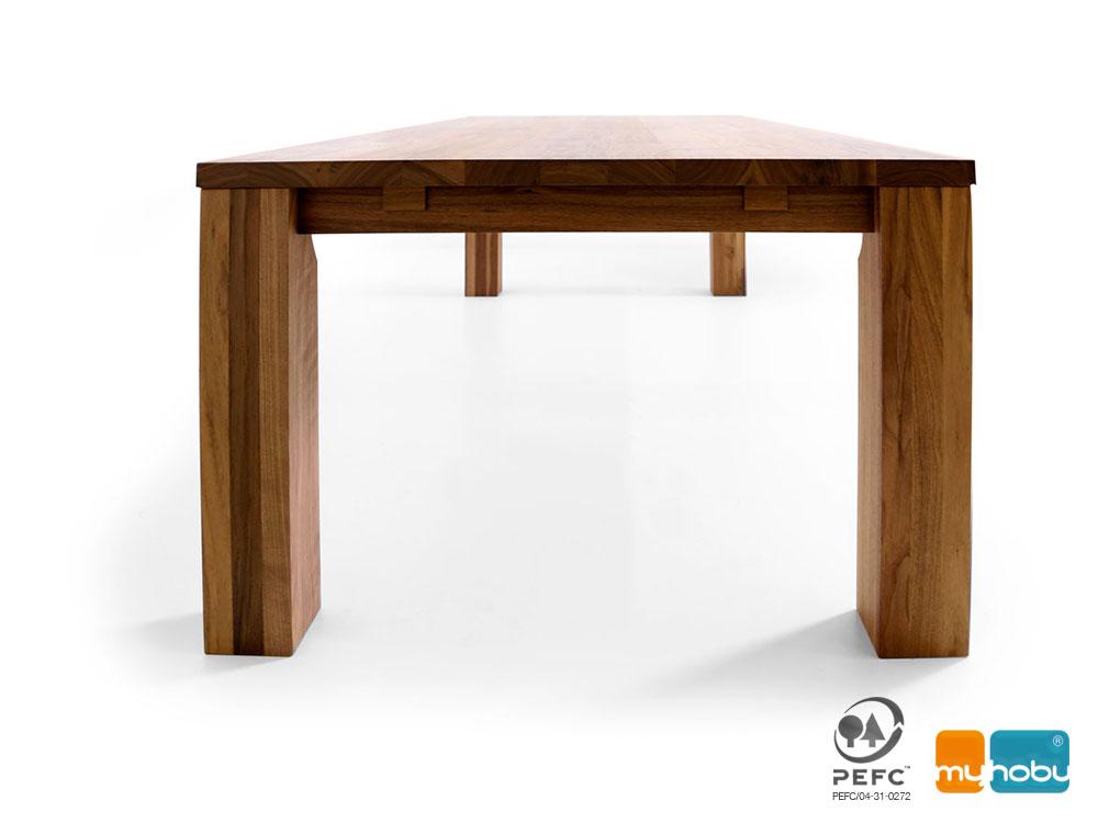 gela ma tisch esstisch nach ma aus massivholz. Black Bedroom Furniture Sets. Home Design Ideas