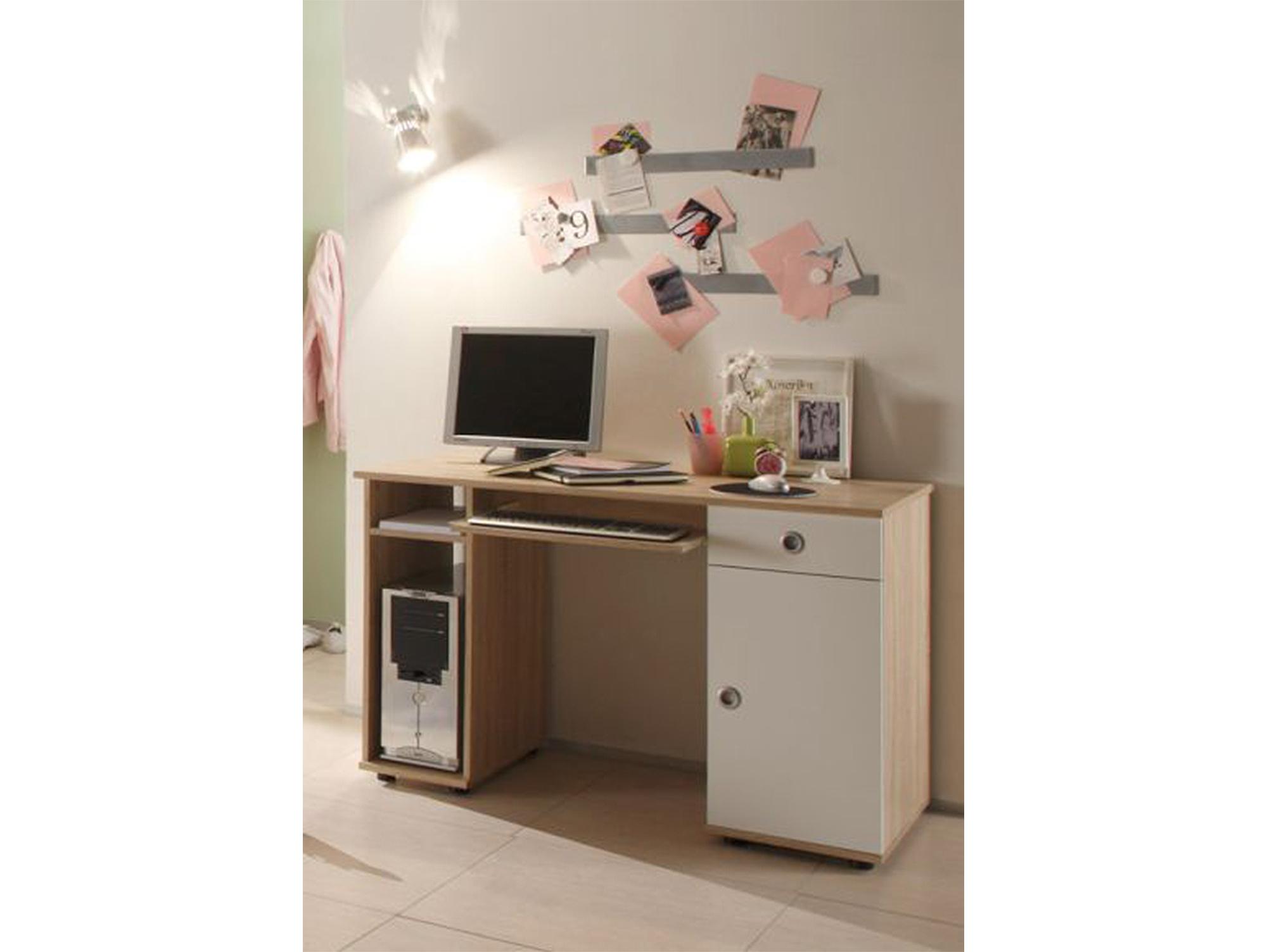 tina jugendzimmer sonoma eiche wei mit schwebet renschra. Black Bedroom Furniture Sets. Home Design Ideas