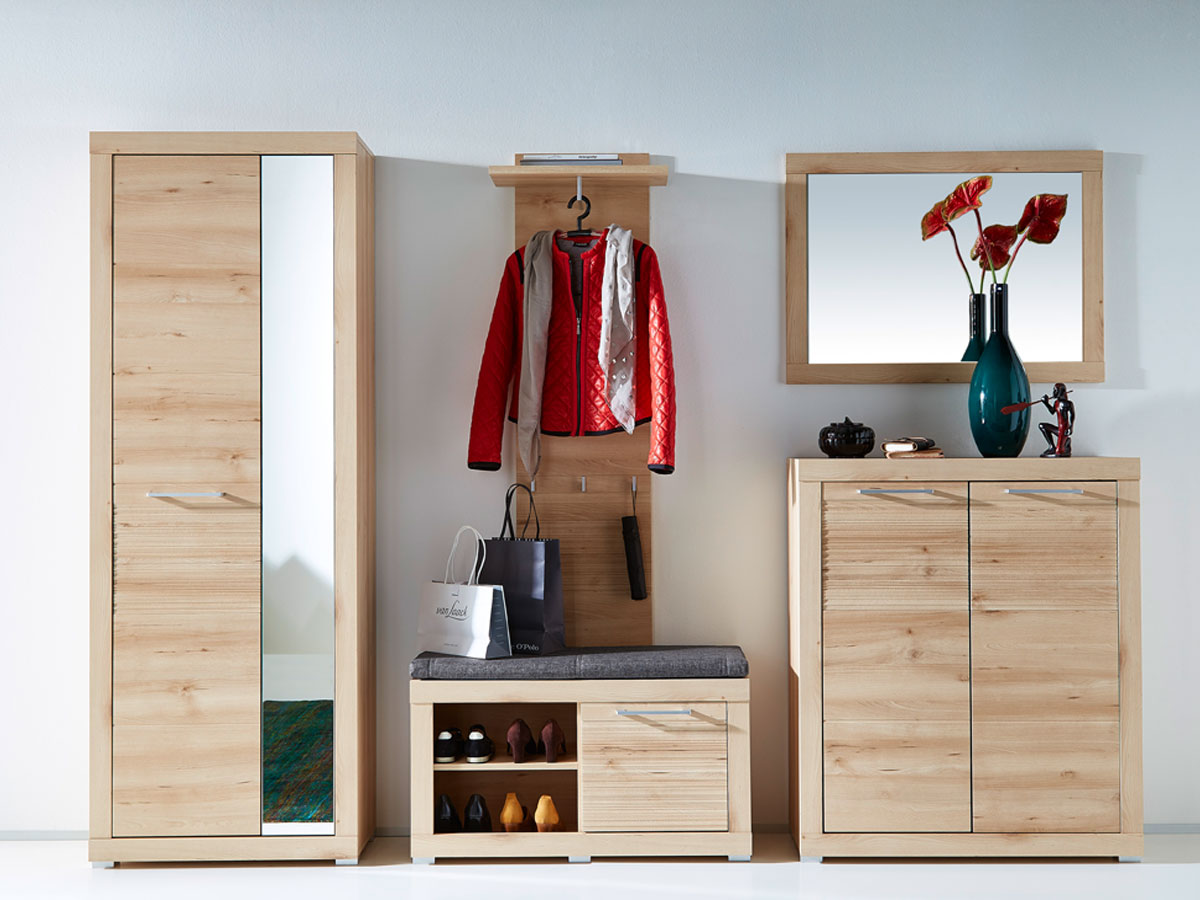 tim garderobenschrank buche hell. Black Bedroom Furniture Sets. Home Design Ideas