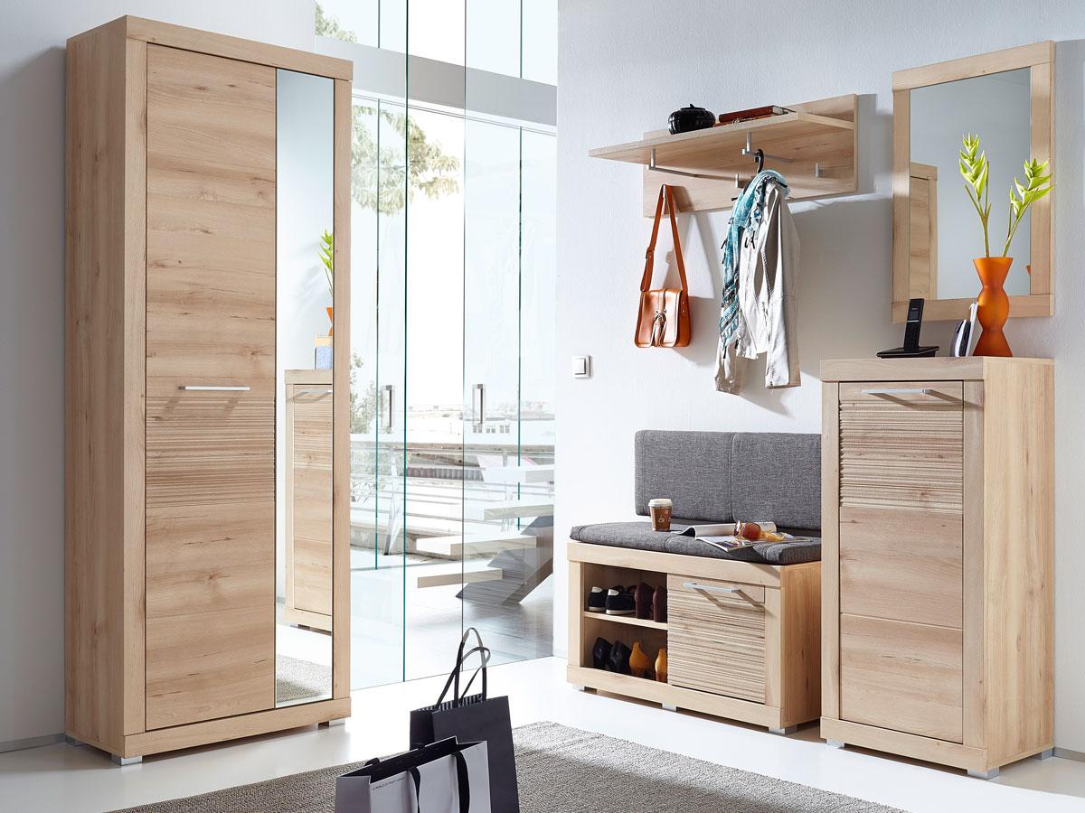 tim garderobenpaneel klein buche hell. Black Bedroom Furniture Sets. Home Design Ideas