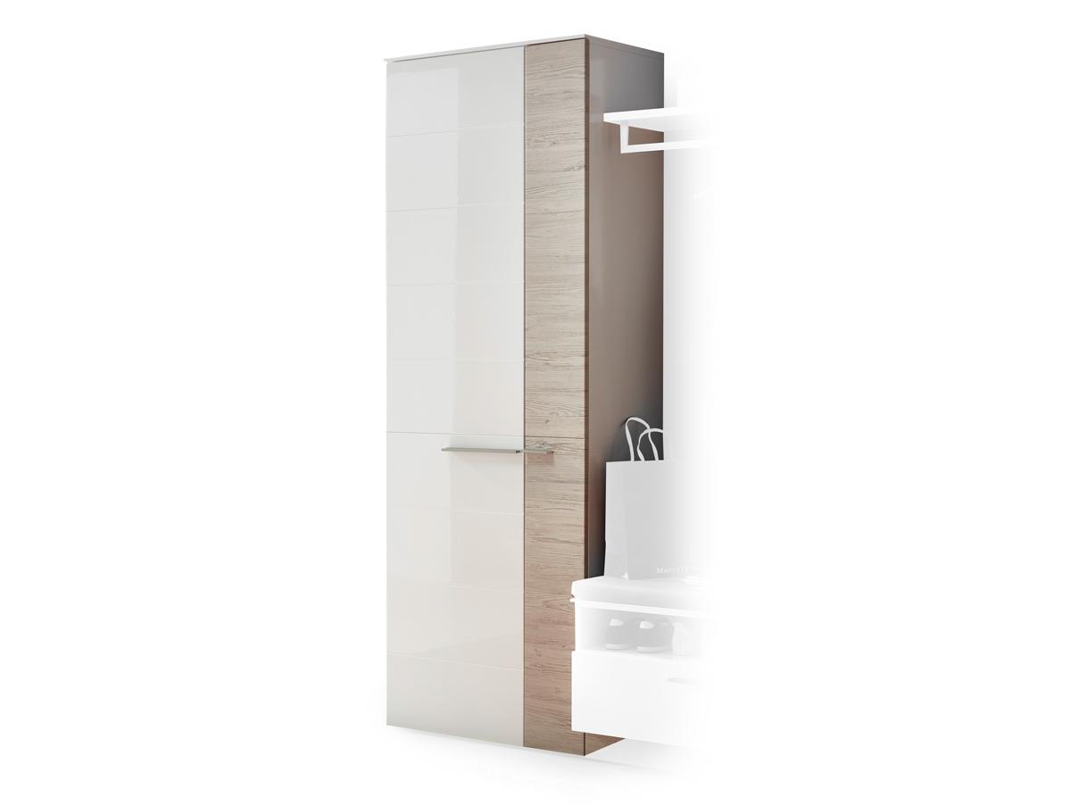 dublin garderobenschrank wei taupe. Black Bedroom Furniture Sets. Home Design Ideas