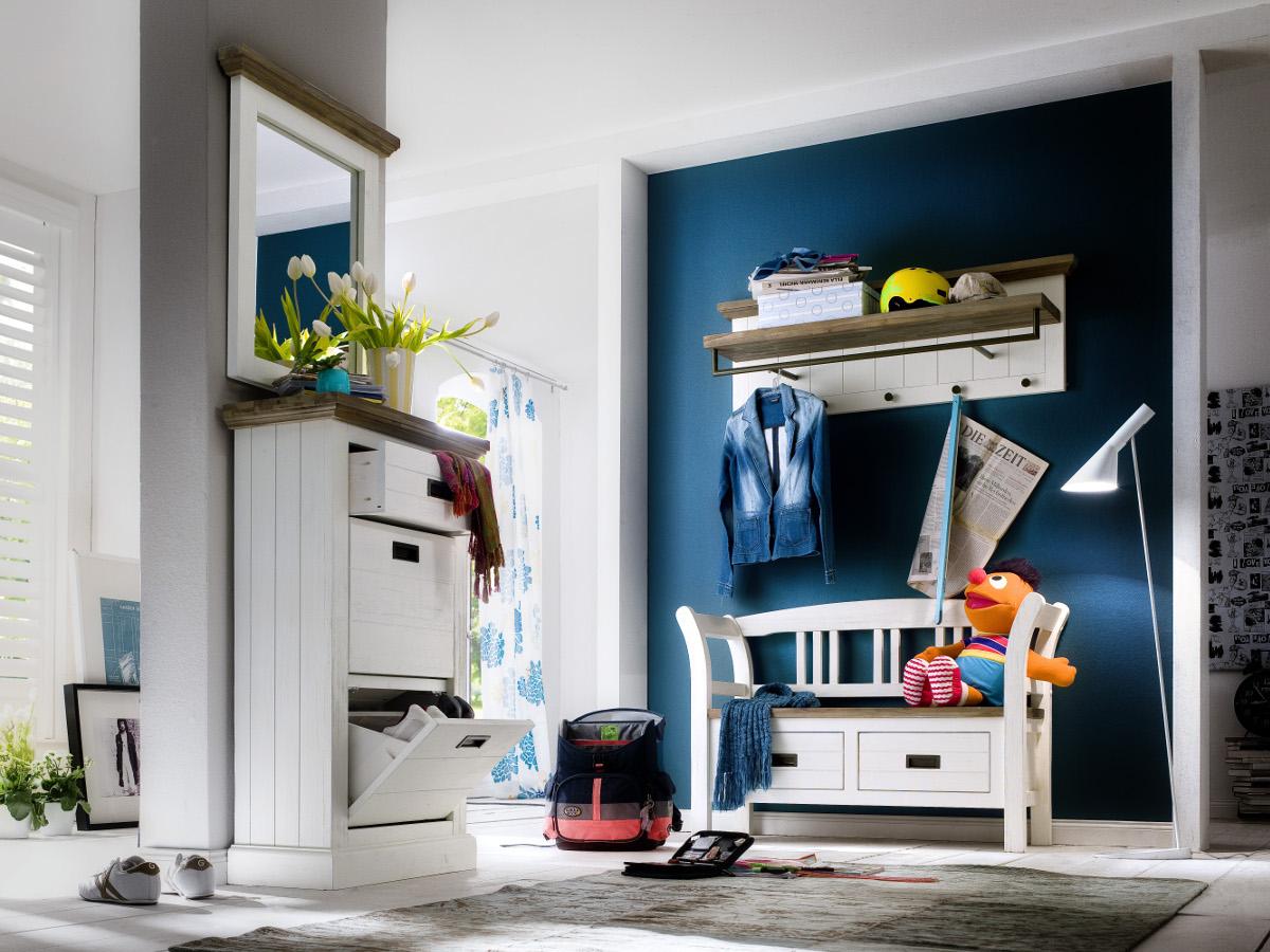 Gora spiegel akazie for Garderobe komplett programme