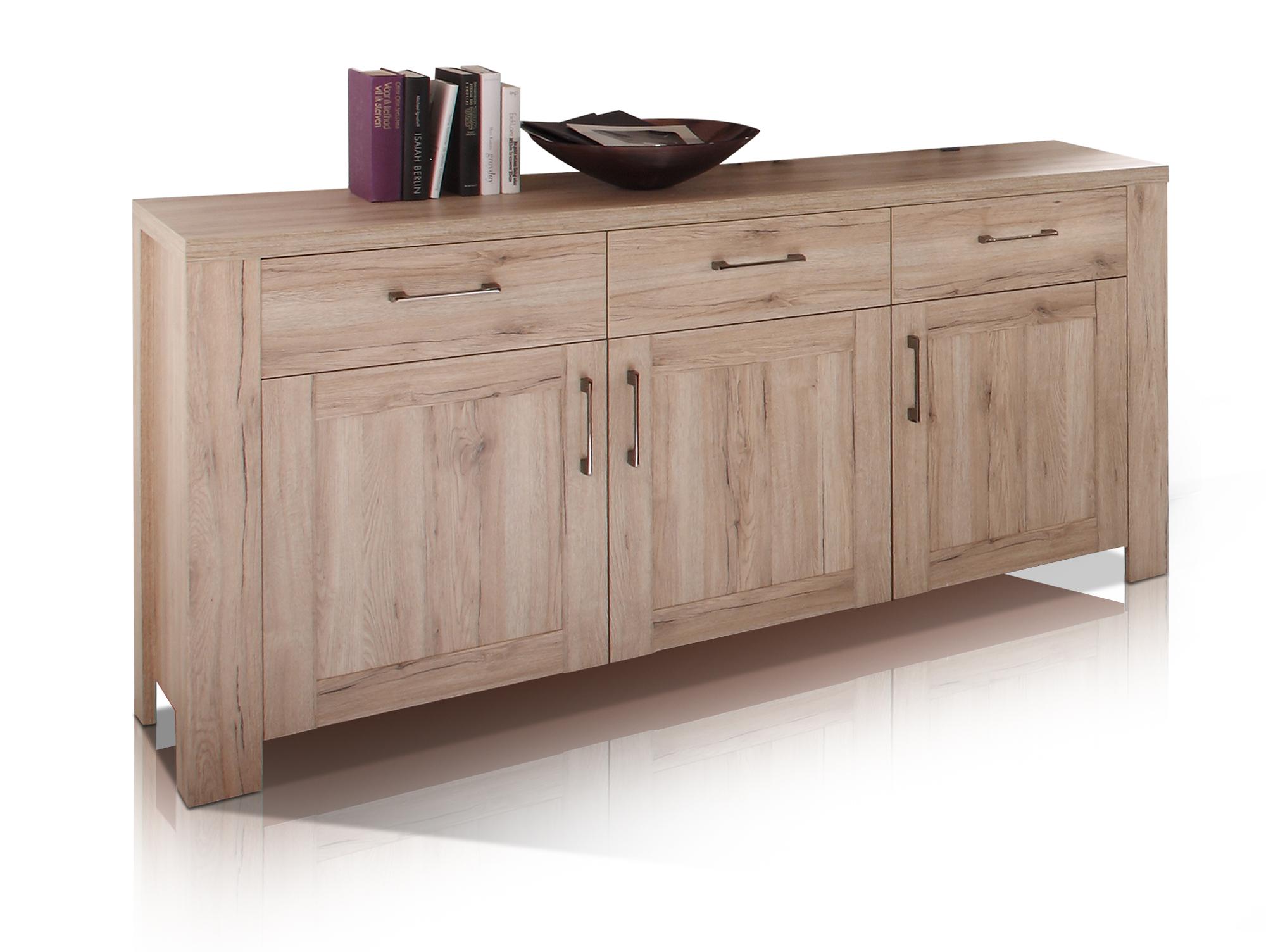 leroy sideboard san remo eiche. Black Bedroom Furniture Sets. Home Design Ideas