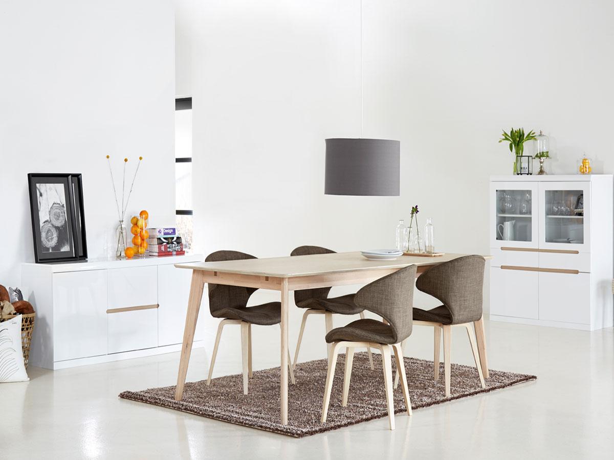 cent esstisch 160 x 90 cm eiche eiche. Black Bedroom Furniture Sets. Home Design Ideas