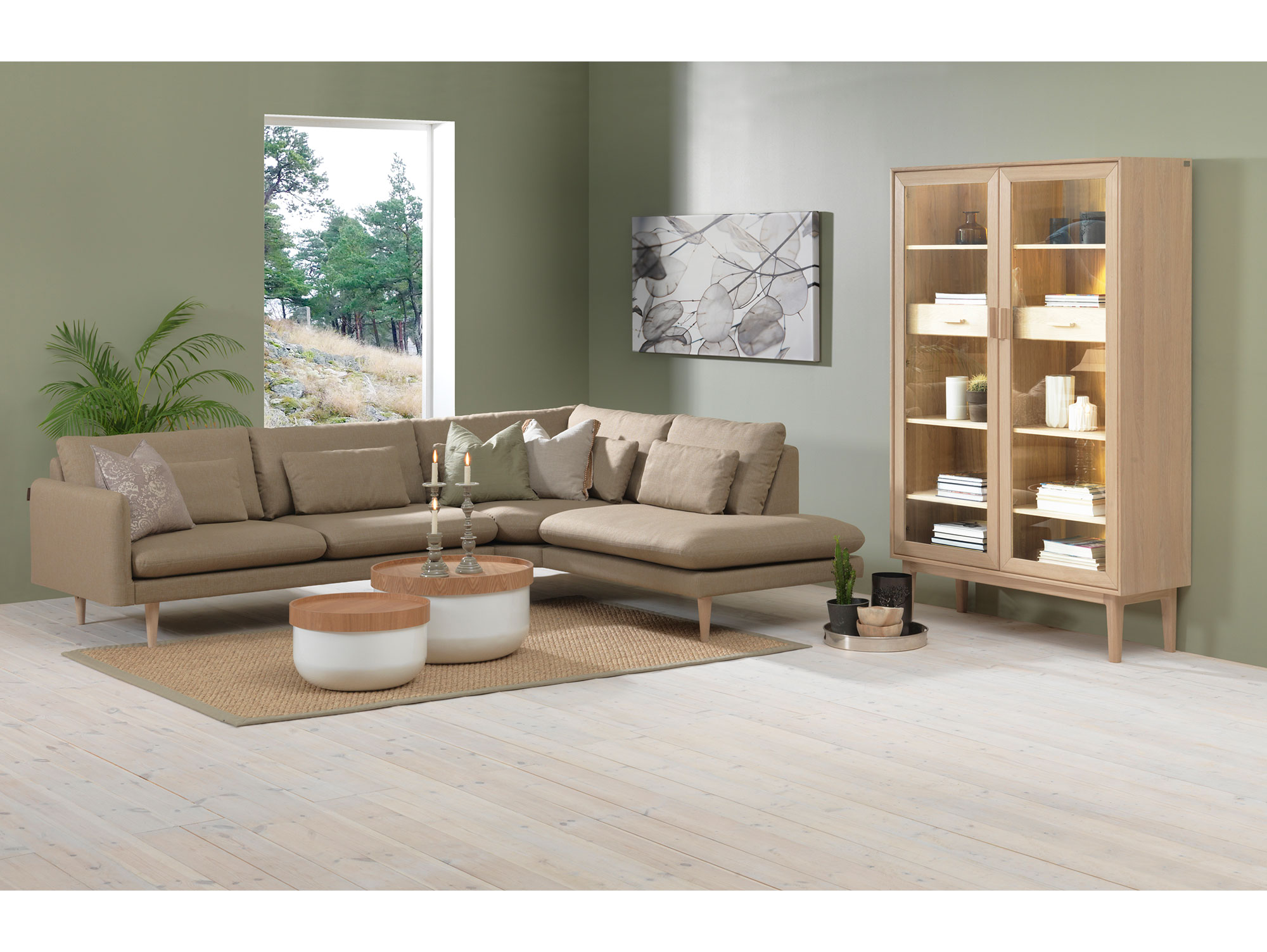 ohama couchtisch wei esche 63 cm. Black Bedroom Furniture Sets. Home Design Ideas