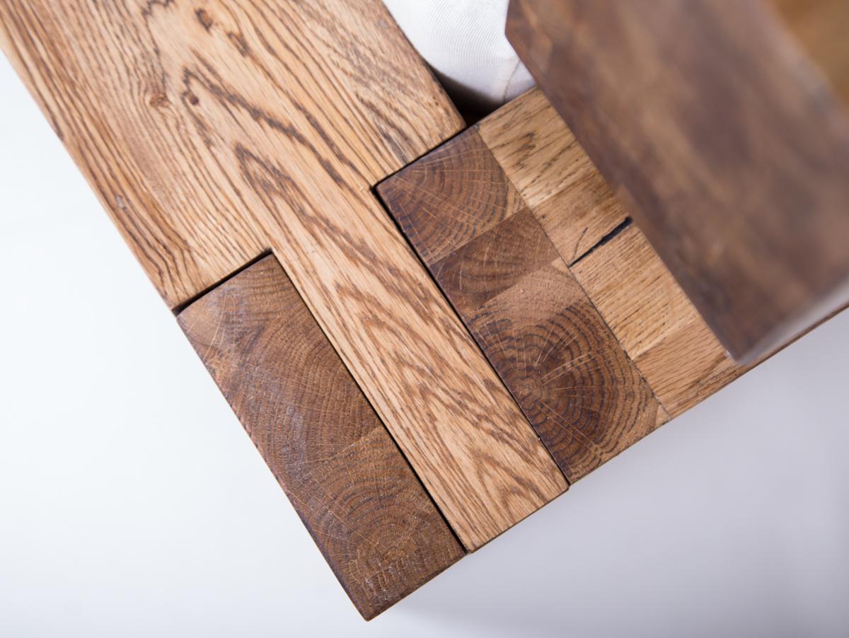 Ortega Massivholzbett Eiche Geölt 160 X 200 Cm