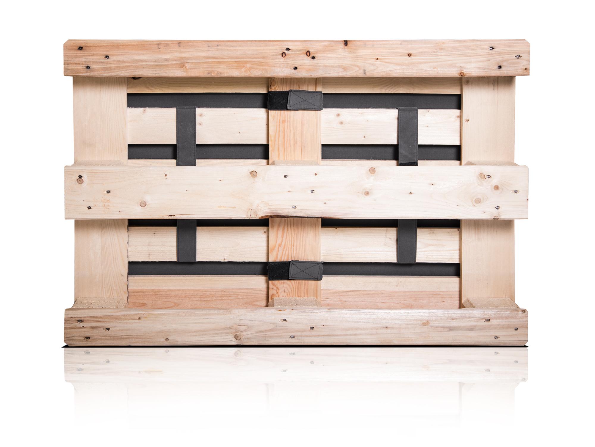 outdoor paletti xxl sofa europaletten natur mit wasserfesten polstern. Black Bedroom Furniture Sets. Home Design Ideas