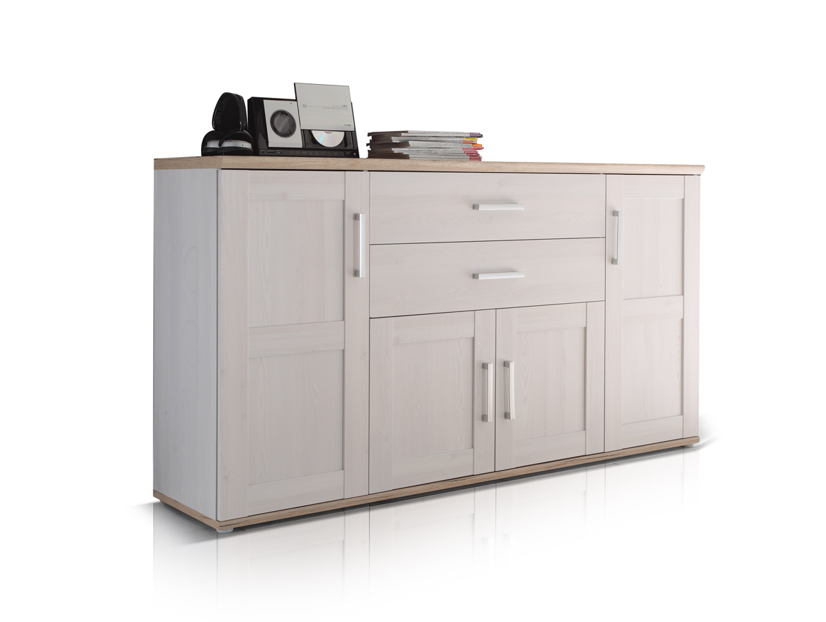romantik sideboard gro sibiu l rbe san remo hell. Black Bedroom Furniture Sets. Home Design Ideas