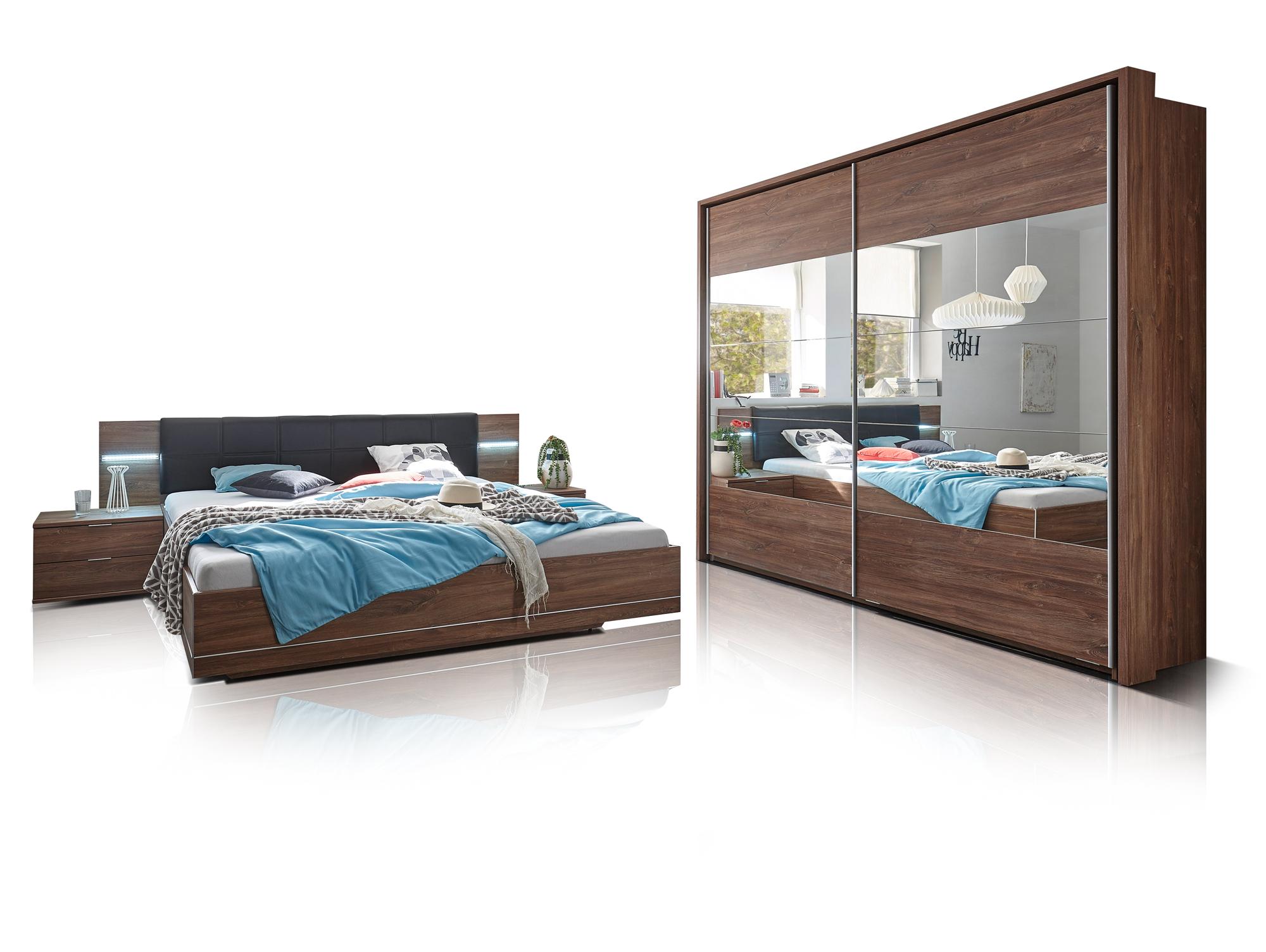 samantha komplett schlafzimmer akazie. Black Bedroom Furniture Sets. Home Design Ideas