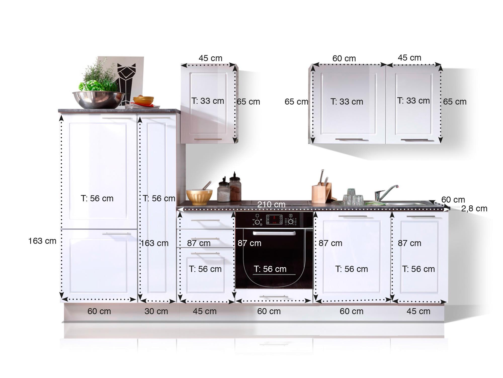Praktische Küchen in vielen Designs - Küche online bestellen