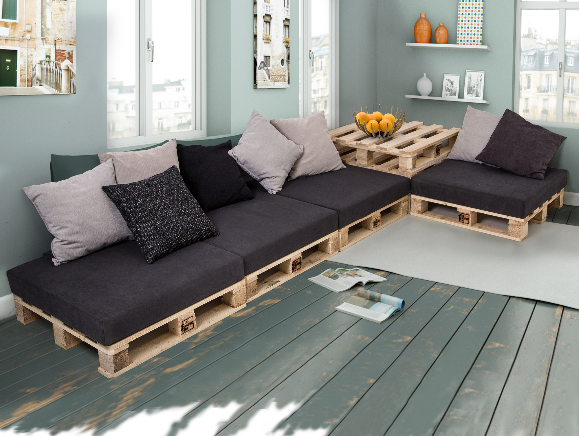 sofa aus paletten affordable stilvolle polster fr paletten paletten sofa polster brostuhl with. Black Bedroom Furniture Sets. Home Design Ideas