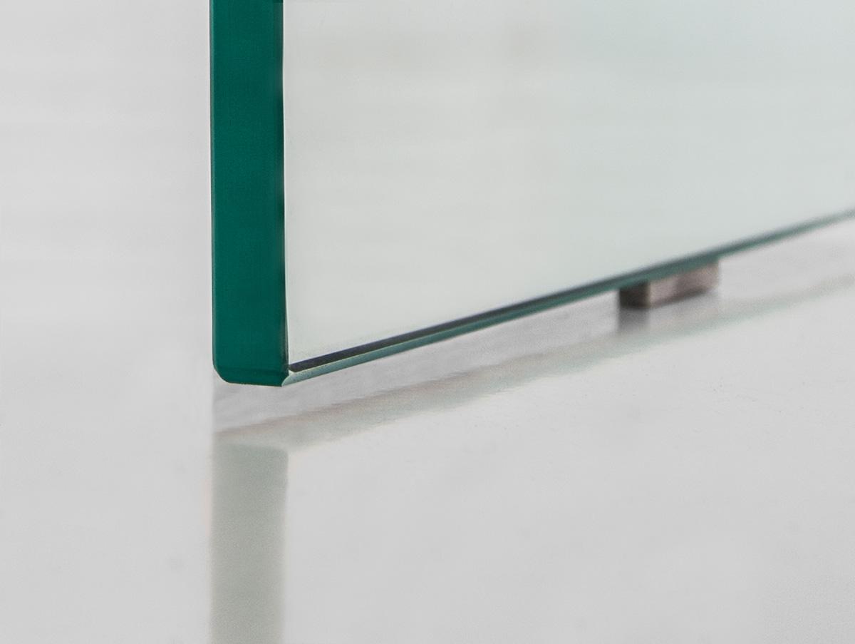 Quadro couchtisch klarglas 90x90 cm for Ecksofa quadro