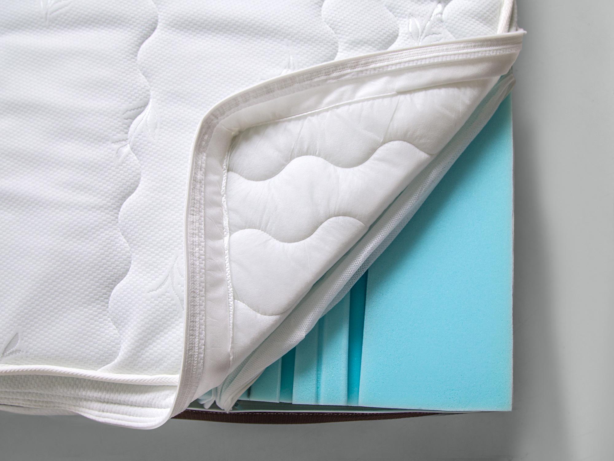 deluxe foam kaltschaummatratze 80 x 200 cm h rtegrad 3. Black Bedroom Furniture Sets. Home Design Ideas
