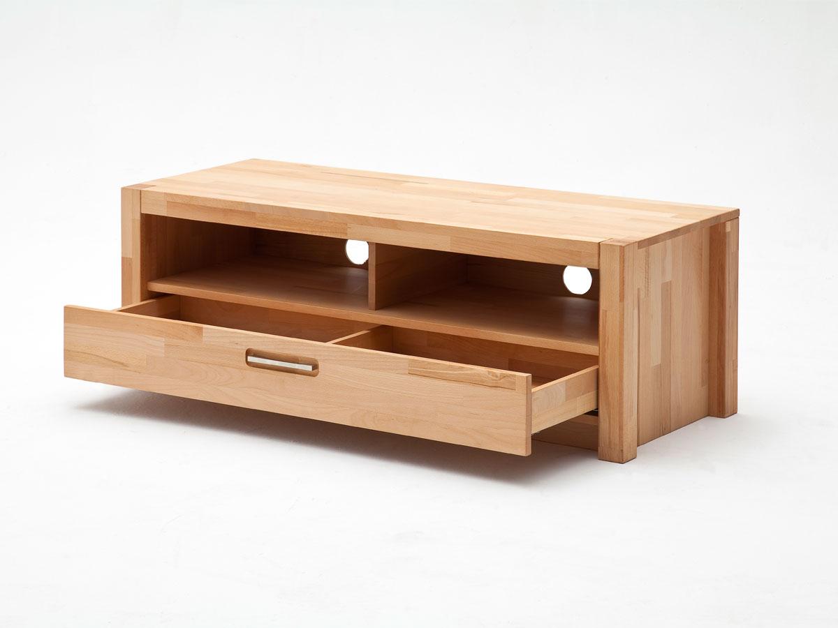 fanja wohnwand massiv ge lt kernbuche. Black Bedroom Furniture Sets. Home Design Ideas
