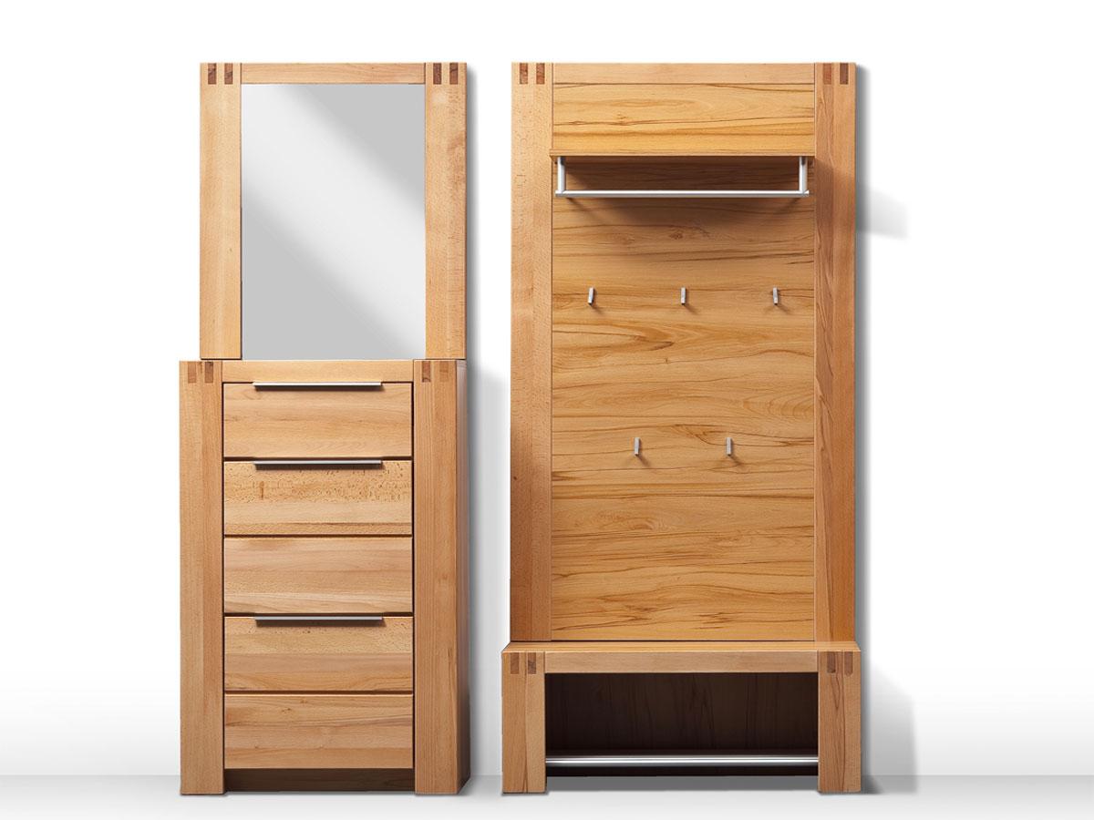 giga wandgarderobe teilmassiv kernbuche. Black Bedroom Furniture Sets. Home Design Ideas